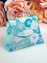 Floral Mini Purses Favor Boxes