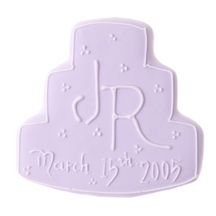 Cookie Favors - Pink Wedding Cake Personalized