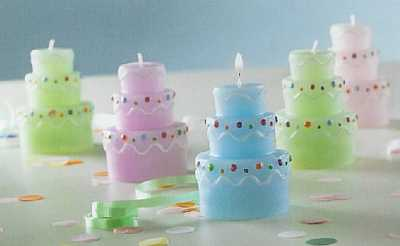 Party Cake Candles