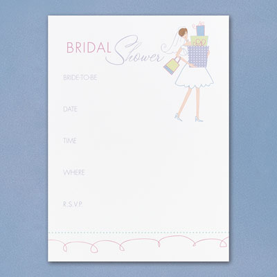 Blank Bridal Shower Invitations for your inspiration to make invitation template look beautiful