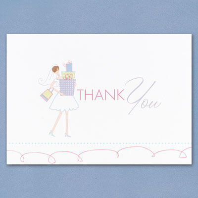 Wedding Gift Exchange Etiquette : Bridal Gifts Thank You Cards