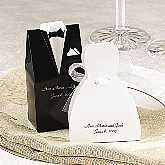Tux & Gown Favor Boxes