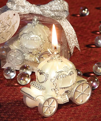Cinderella Carriage Candle