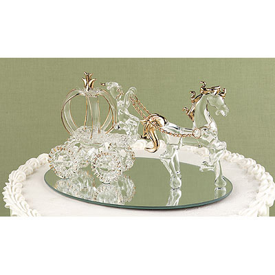 Horse and Carriage Cake Top