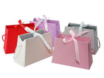 Mini Satin Purse Favor Holders