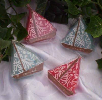 Sailboat Candles