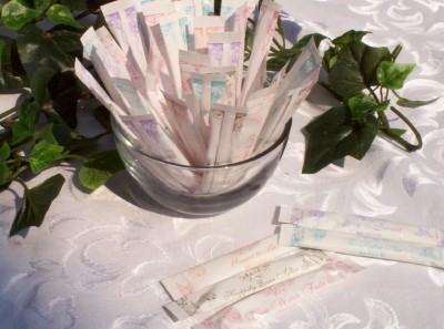 Wedding Sugar Sticks