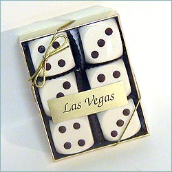 Chocolate Dice White