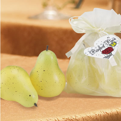 A perfect pair wedding favors