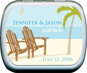 Beach Chair Mint Tin
