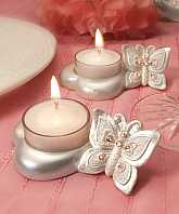 Butterfly Design Candle Holder