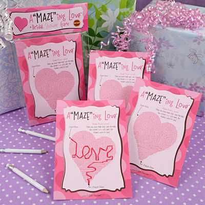 funny bridal shower games. These ridal shower mazes are