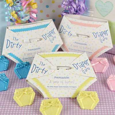 The Baby Shower Diaper Game - A Stinky Favorite!