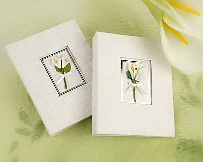 Calla Lily Mini Guest Photo Albums