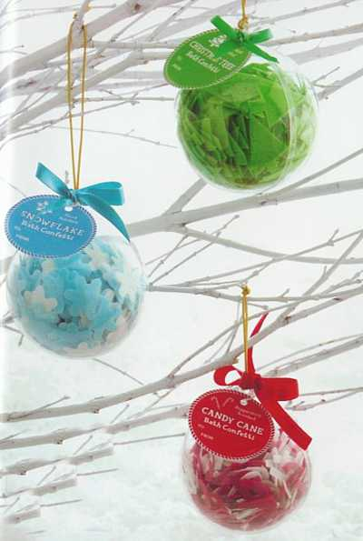 christmas ornament confetti