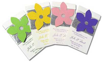 Wedding Favors Seed Packets on Seed Packet Favor Is A Lovely Seeded Wedding Favor With A Packet Of
