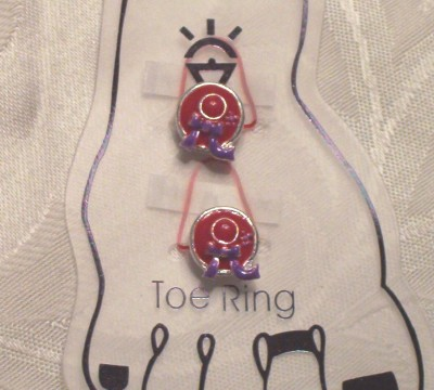Toe Rings - Red Hat
