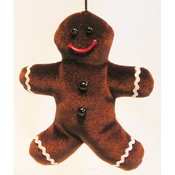 Gingerbread Man Sachet