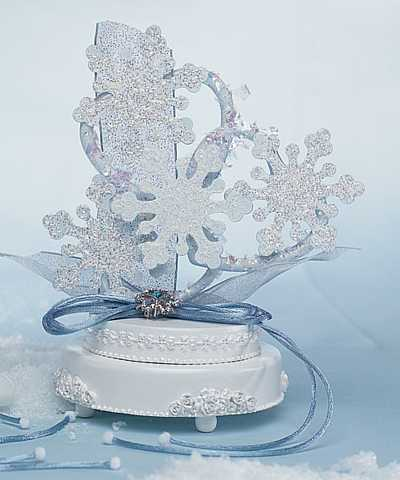 Winter Wonder Cake Topper
