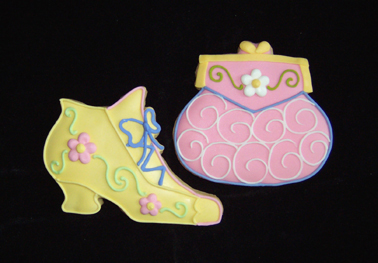 Purses & Shoes Cookie Favors