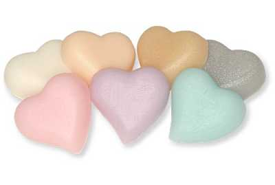 Heart Shaped Favor Soap